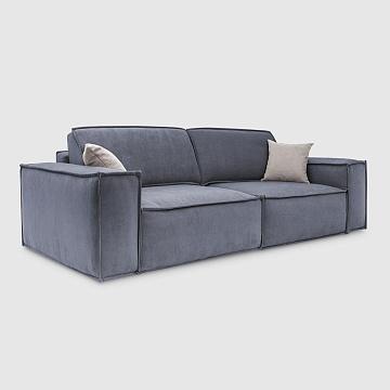Комо Дымчато-серый шенилл Lounge