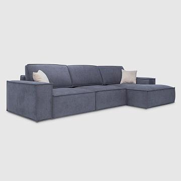 Гарда Дымчато-серый шенилл Lounge